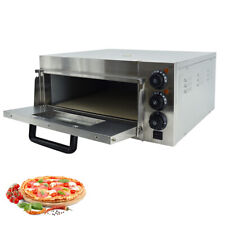 More details for electric pizza oven single deck kitchen commercial baking fire stone catering uk