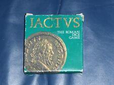 """JACTVS"" Roman Dice Game - Britannia TV Series Invasion + History / Historical"