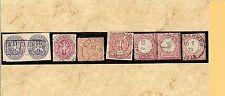Preußen / KAUKEHMEN 6 feinst-Pracht-Stücke, dabei zentr. Ra2 a. Briefstück