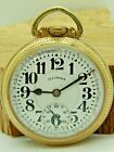 Antique Pocket watch Illinois Bunn Special 60 hr Elinvar 21 jewel Grade 161A IIP