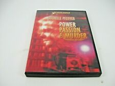 POWER PASSION AND MURDER DVD (GENTLY PREOWNED)