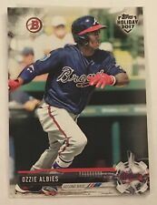 2017 Topps Holiday Bowman Exclusive Ozzie Albies Card Atlanta Braves TH-OA