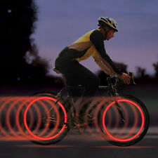 2x Bike Bicycle Cycling Wheel Spoke Wire Tyre LED Night Safety Flash Light Lamp