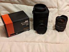 Sigma EX 12-24mm F/4.5-5.6 II HSM DG Lens