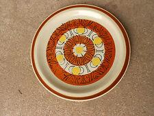 Vintage Topaz SUNBURST Stoneware Dinner Plate    Japan