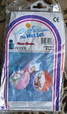 Wasserball aufblasbar?Neu?Intex The Wet Set-von 1990-selten