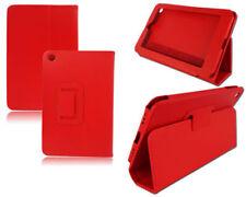 Carcasa rojas de piel sintética para reproductores MP3