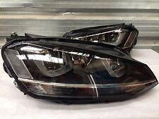 Golf MK7 Headlights LED DRL Bi Xenon GTI GTD R TDI 2013 UK Stock