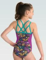 NWT GK DISNEY LUCKY DESCENDENTS STRAPPY BACK LEOTARD SIZE AXS Retail $59.99