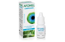 AFOMILL- LUBRIFICANTE gocce oculari 10ml acido ialuronico e camomilla