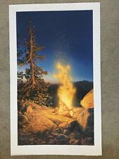 Stephen Lyman 'Sunset Fire'- S/N LIM. ED. print w COA
