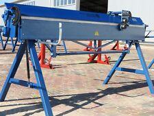 Piegatrice manuale per lamiera ZGR-2140/1.2mm + TAGLIERINA MANUALE A RULLI