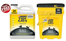 Purina Tidy Cats 4-in-1 Strength Clumping Cat Litter Dust Free Formula
