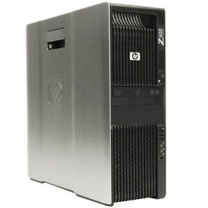 HP Z600 Workstation HEX-Core X5650   2..66 GHz -12GB 1TB HDD  FX1800 WIN7/OFFICE