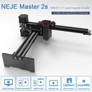 NEJE Master2s 20W CNC router Laser Engraving Machine Engraver 3D Printer Cutter
