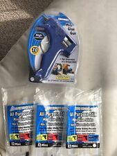 Surebonder High-Temp Mini Glue Gun Blue Gm160 And 3 Packs Of St-12 Glue Sticks