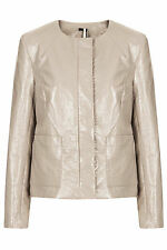 Topshop Cotton Cropped Coats & Jackets for Women