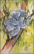 Australia Cinderella Koalas 1997 $10 Koala Conservation MS MNH