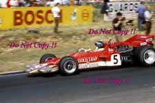 Jochen Rindt Gold Leaf Lotus 72 Winner British Grand Prix 1970 Photograph 12