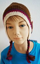 M94 Moshiki Children's Hat Knitted Cap Fairtrade Hand-Knitted Embroidered