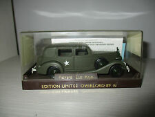 PACKARD ETAT-MAJOR EDIZIONE LIMITATA OVERLORD 89 SOLIDO SCALA 1:43