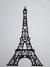 Eiffel Tower Paris Paper Die Cuts x 8 Travel Scrapbooking Embellishment