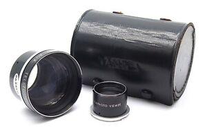 Yashica Yashinon Telephoto Lens Set for Yashicaflex Yashicamat TLR - UK Dealer