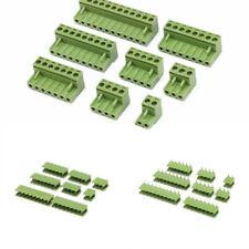 Placa de circuito impreso Tornillo De Bloque Terminal Conector 2/3/4/5/8/9/10/12 Pin KF 2 EDGK 5.08mm Pitch
