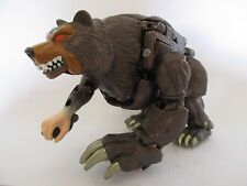 TRANSFORMERS DELUXE ANIMORPHS - OURS JAKE GRIZZLY BEAR - HASBRO 1998 Loose