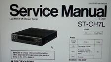 service manual radio tuner stereo Technics Panasonic ST-CH7L su carta formato a4