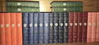 THE HARVARD CLASSICS! Complete 50 volumes 1909 First Edition HISTORICAL BINDINGS