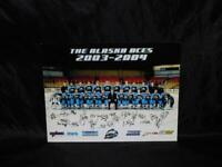 The Alaska Aces 2003 - 2004 Hockey Team Group Photo Promo Picture Ad