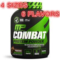 MusclePharm Combat Protein Powder Sport Chocolate Milk Vanilla Cream 2 4 5 8 lbs