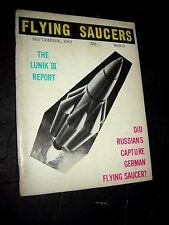 FLYING SAUCERS - Sept 1962 - UFO's - Peter Kor - Gray Barker - Ray Palmer