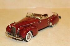 FRANKLIN MINT 1940 PACKARD NEW IN BOX with ACCESSORIES and ORIGINAL PACKAGING