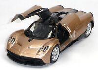NEU: Pagani Huayra Supersportwagen Sammlermodell ca. 1:37 hellbronze WELLY 轰动