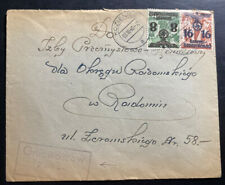 1940 Kozienice General Government Germany Cover To Random