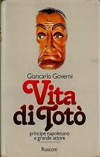 LIBRO Vita di Totò, principe napoletano e grande attore Governi G. Rusconi