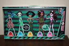 Monster High dolls Skull Shores 5 pack New in Box Exclusive RETIRED BRAND NEW
