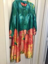 Beautiful New 2-Piece Multicolored Lady's  Dress Suit, Size 18W, By Astro