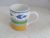 Gibson Designs Everyday-Clarisse-Yellow Blue Green- Mug(s) - Up to 5 Avail