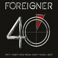Foreigner : 40: Forty Hits from Forty Years VINYL (2017) ***NEW***