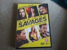 ? Savages (DVD, 2013) freepost in very good condition