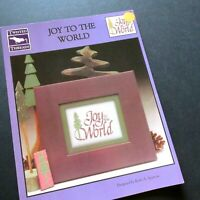 Joy To The World Counted Cross Stitch Chart Pattern Twisted Threads Ruth Sparrow