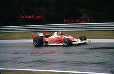 Niki Lauda Ferrari 312 T2 belga Grand Prix 1977 fotografía 1