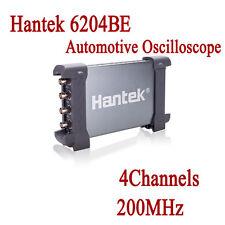 Hantek 6204BE USB PC Digital Oscilloscope 200MHz 4CH 1Gsa/s Auto Diagnostic Tool
