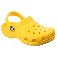 8fbfd28e8 Crocs Classic Kids Roomy Fit Clogs Shoes Sandals in All Sizes 10006 Lemon  Yellow 204536 7c1