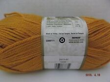 ~ Bernat Satin Yarn ~ Colour # 04609 Golden Rod ~ 100 Grams ~ 200 Yards