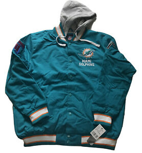 NFL Miami Dolphins Super Bowl Champions Commemorative Jacket Men's 2XL Rare