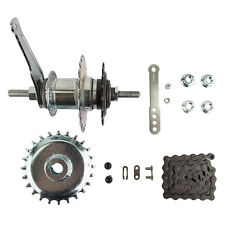 "ADULT TRICYCLE REAR HUB COASTER BRAKE HUB CONVERSION KITS 3/8"" SHIMANO"
